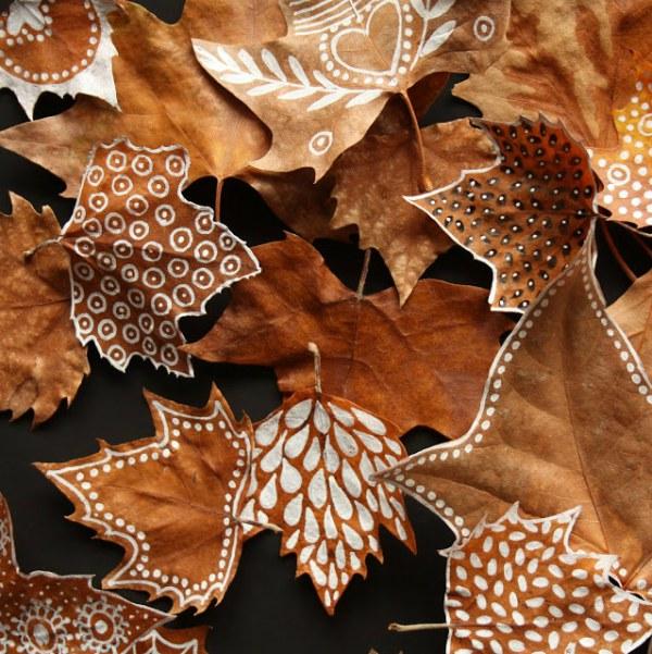 Workshop Compositie met Herfstbladeren