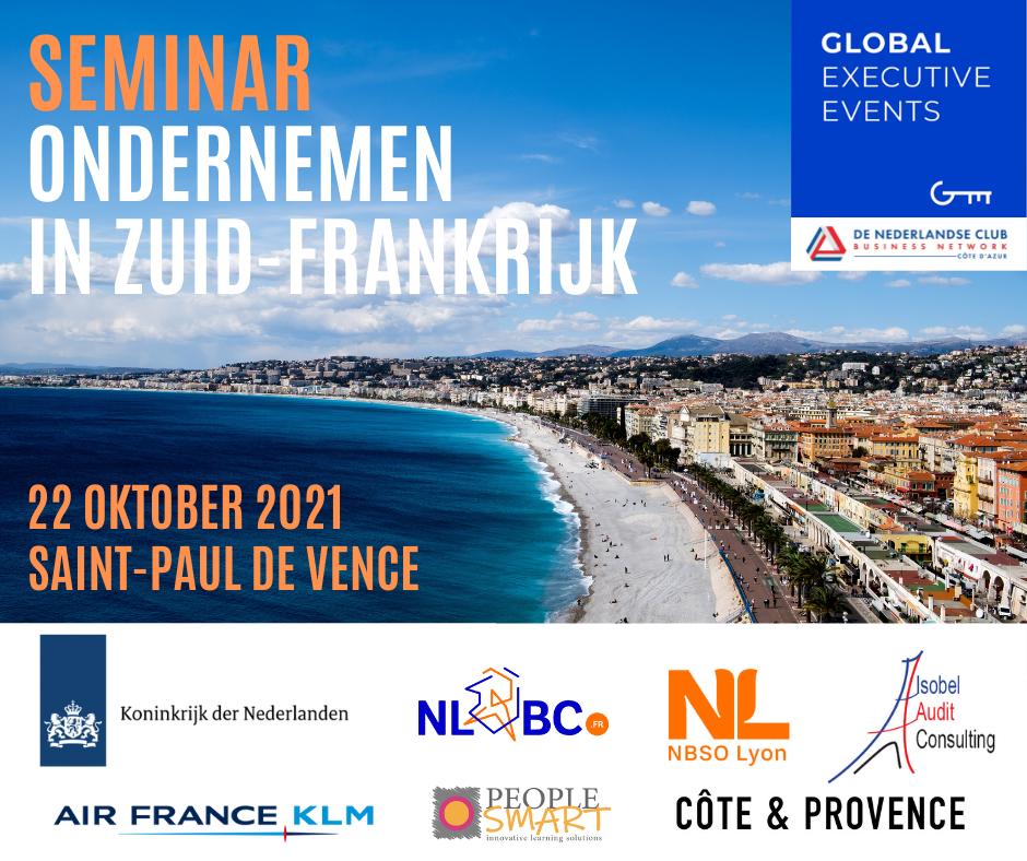Seminar Ondernemen in Zuid Frankrijk